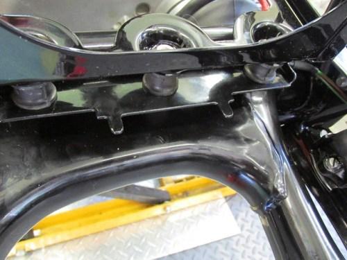Battery Box Tabs for Rear Fender