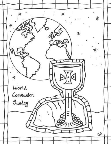 World Communion Sunday bulletin cover