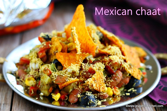 Mexican- chaat