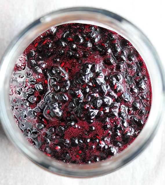 Elderberry and Blackberry Jam
