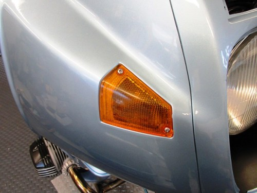 Front Turn Signal Housing and Reflector Attach with Two Special Screws