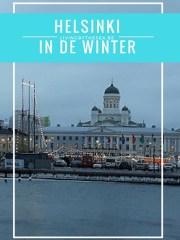 Helsinki in de winter