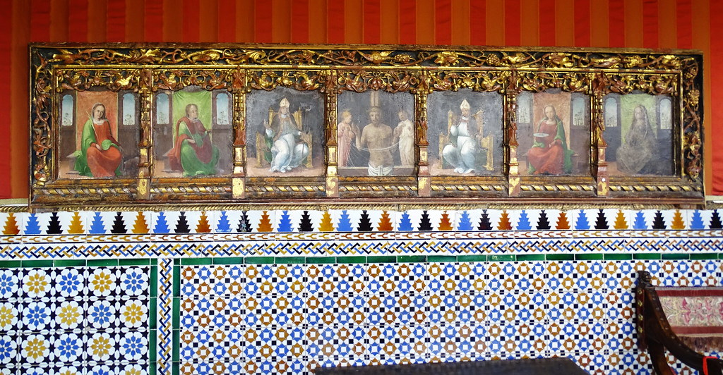 Sala del Cordon pintura cuadros Alcazar de Segovia 06