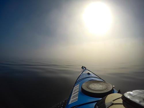 Samish Island Paddling in Fog-19
