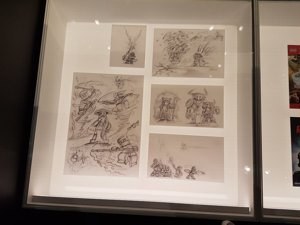 History Collection - Ninjago concept art