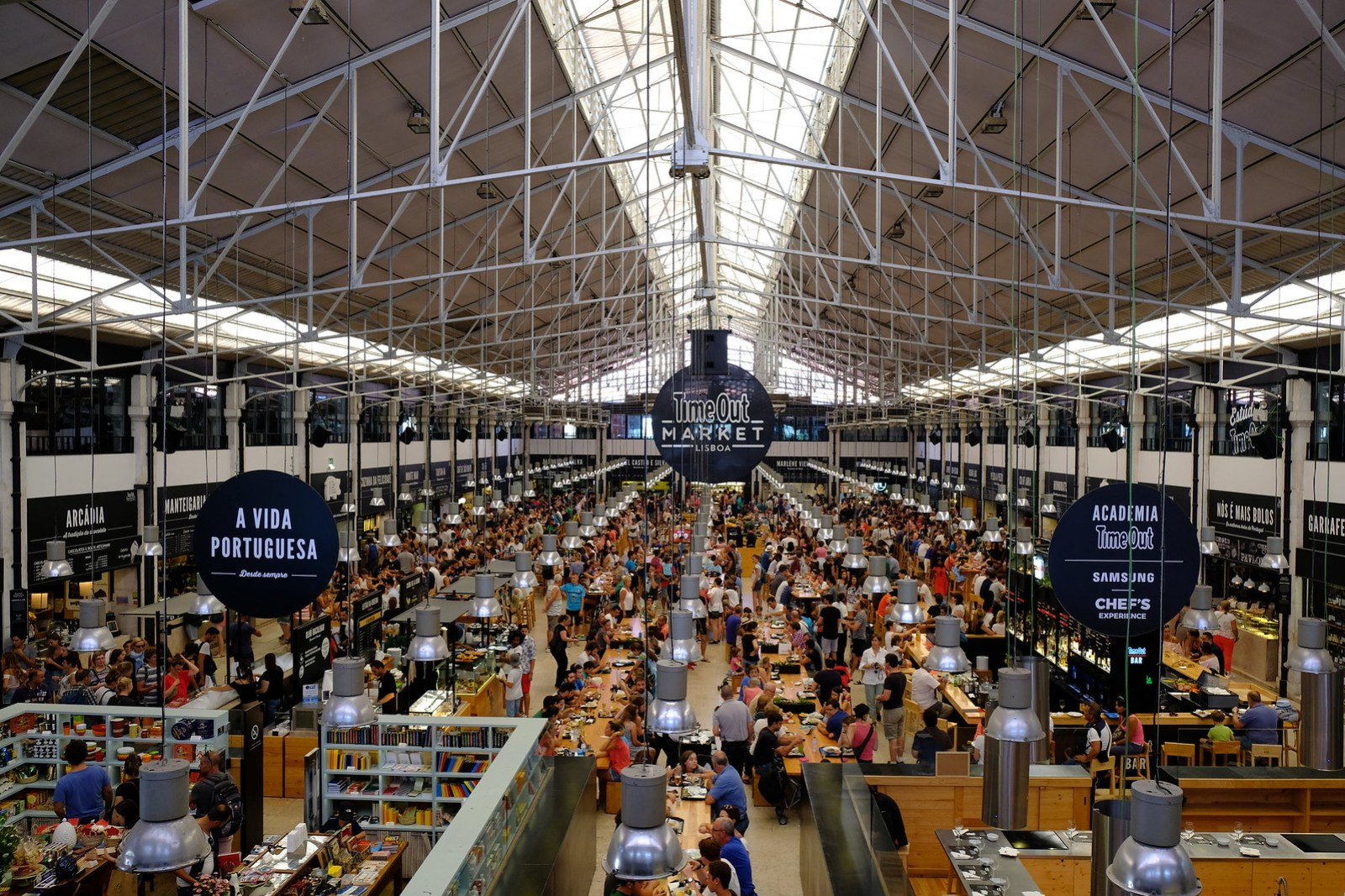 Time Out Market Interior   One Day in Lisbon