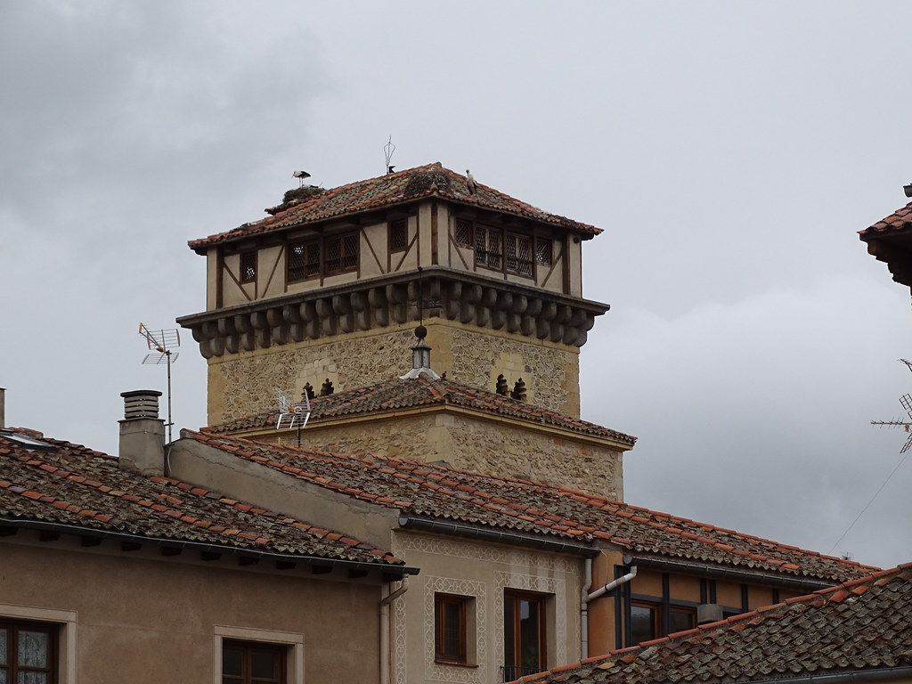 Segovia exterior Convento de Santo Domingo de Guzman o El Real y Torre de Hercules 02