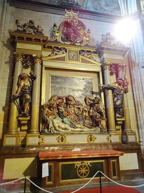 Segovia Capilla de la Piedad Catedral de Nuestra Señora de la Asun ción y de San Frutos