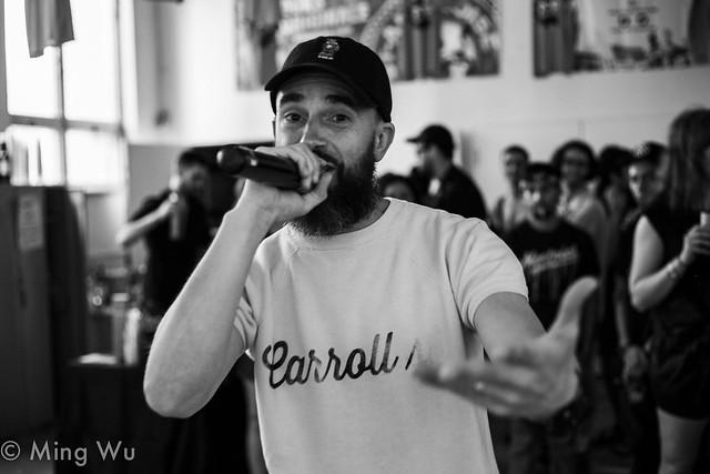 """Jay """"J-Berd"""" Keating @ Pop Montreal 2017"""
