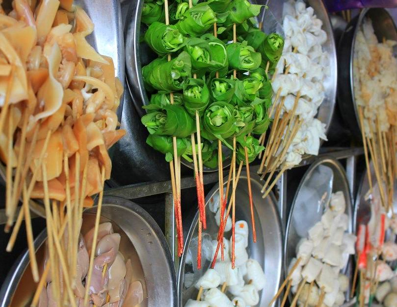 Street food is a major attraction to visit Kuala Lumpur
