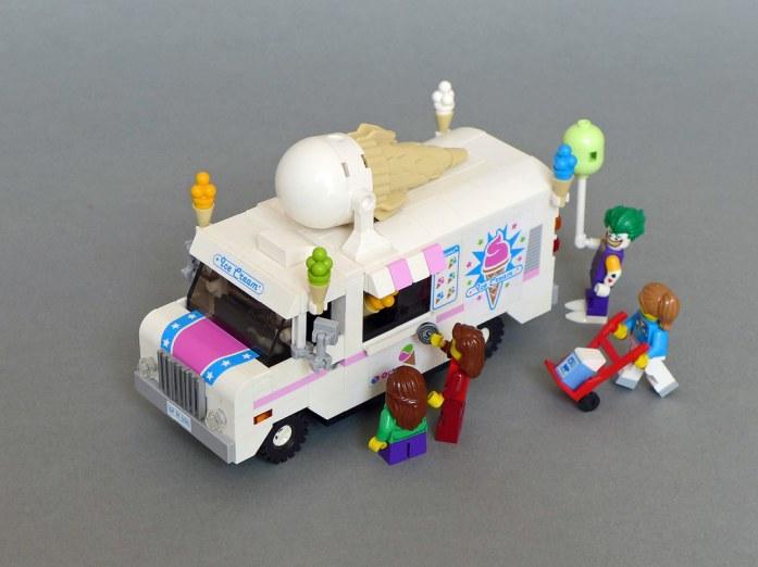 Lego Ice Cream Truck/Ice Cream Van (70804 MOD)