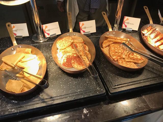 Petit déjeuner - St Regis Abou Dhabi