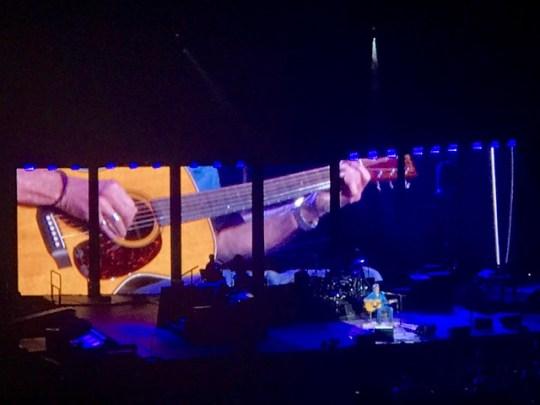closeup on Clapton