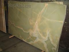basilico green onyx polished vein cut