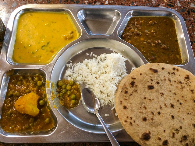 Thali Plate in the Langar Hall