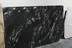 Black Cosmic Granite slabs for countertop