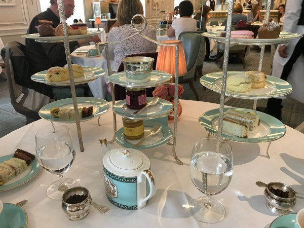 Chá da tarde do Diamond Jubilee