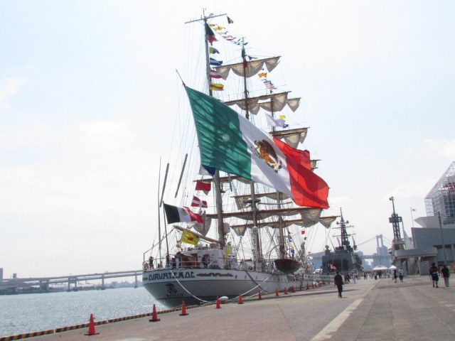 Mexican Training Ship ARM Cuauhtemoc BE-01
