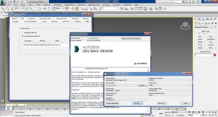 Thiết kế với phần mềm 3ds Max 2014 full license