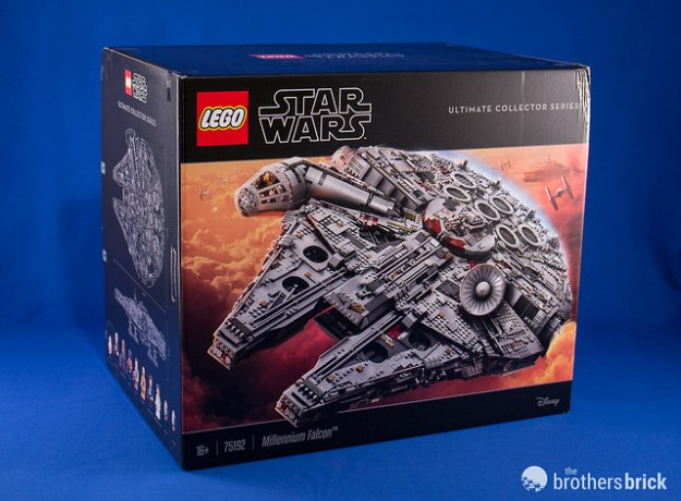 Hands on with the new LEGO Star Wars 75192 UCS Millennium Falcon ...