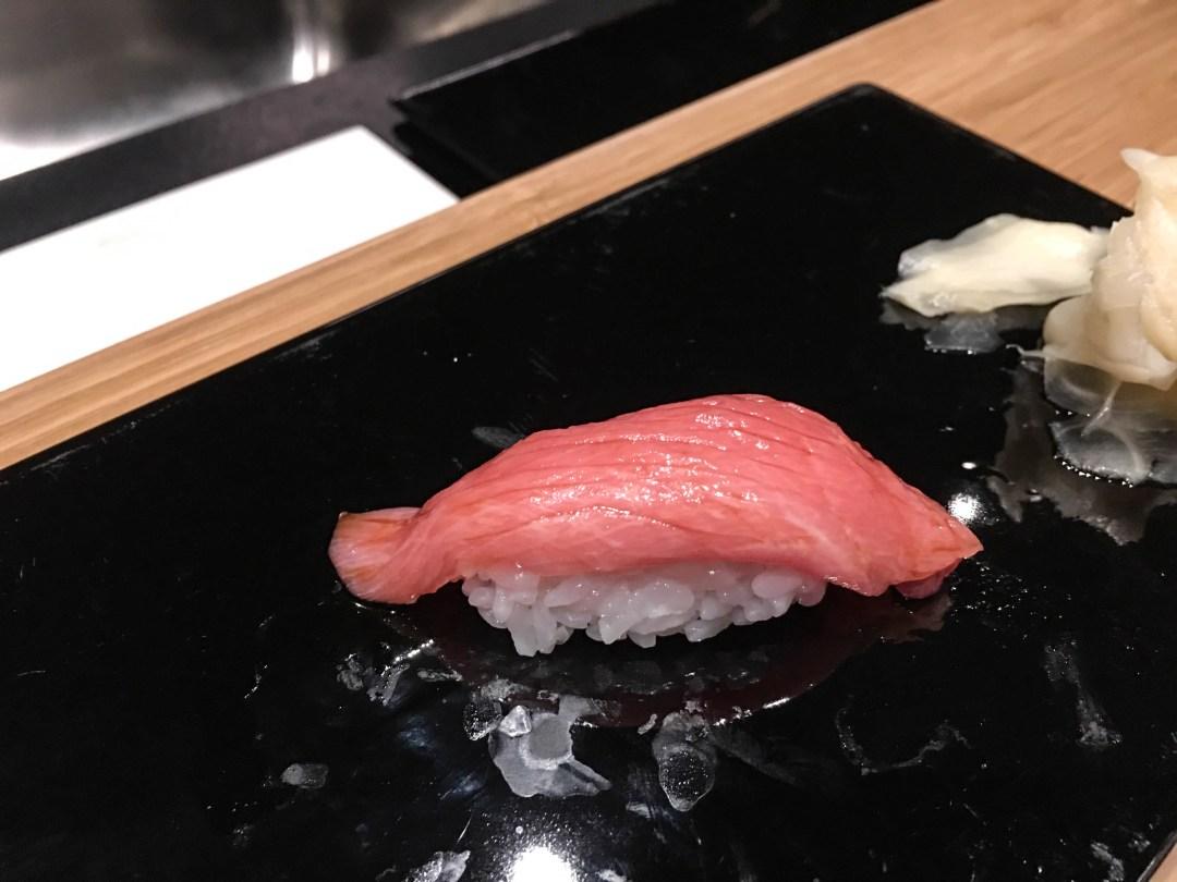 Chūtoro (中とろ) - medium fatty tuna
