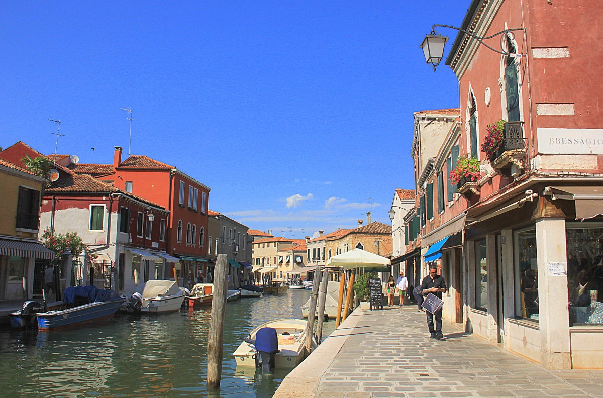 Relaxing day at Murano