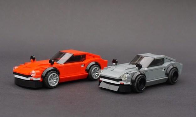 Lego JDM-tuned Datsun 240Zs