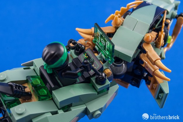 70612 Green Ninja Mech Dragon