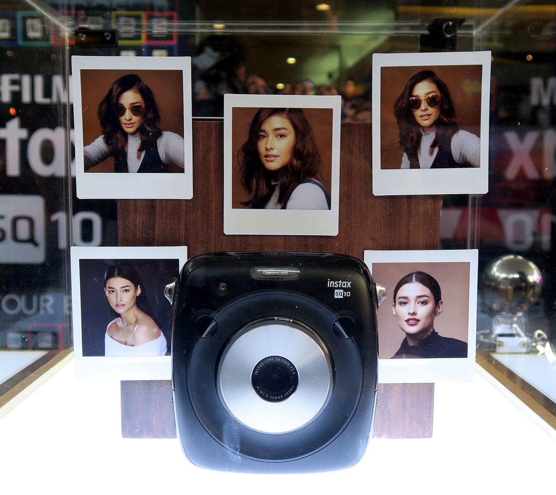 10 Fujifilm x Liza Soberano - Fujifilm SQ10 - Gen-zel She Sings Beauty