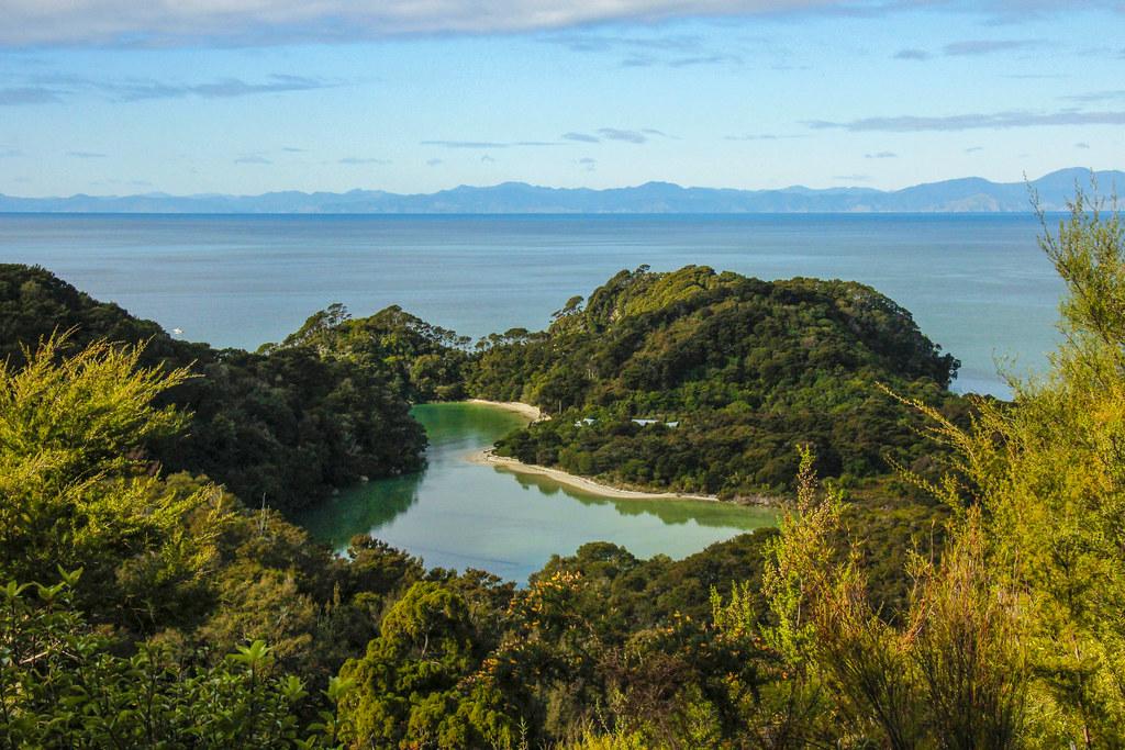 smukke bugter i New Zealand