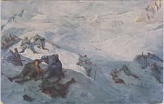 Kaiserschützen Regiment II., Presena Gletscher