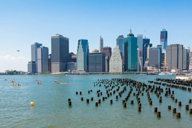 Kayak gratis en Nueva York