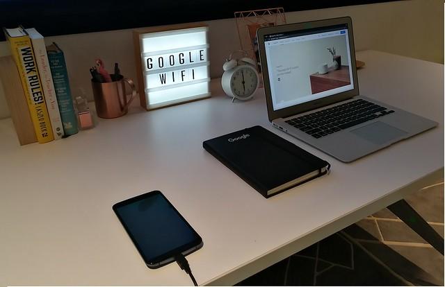 Google Wifi in the study