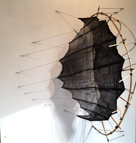 Work by Mo Kelman at the Silkweaving Studio, Granville Island.