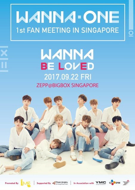 WANNA ONE 'WANNA BE LOVED' 1st Fan Meeting in Singapore
