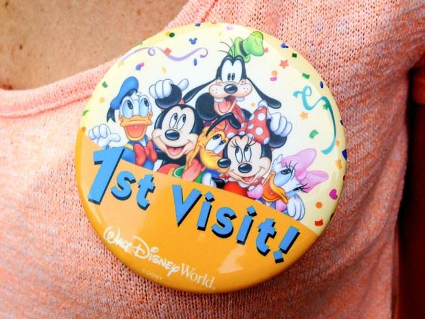 Primera vez en Disney