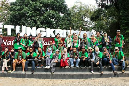 Gerbang Petung peserta APNE 2017