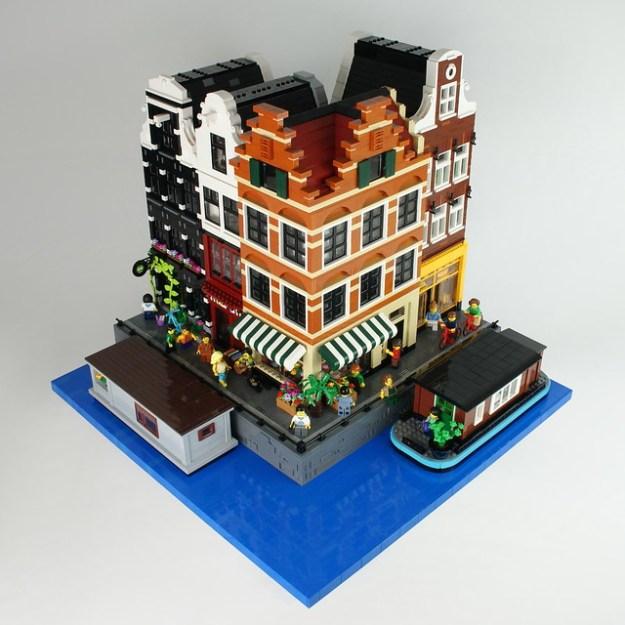 乐高模块化建筑:阿姆斯特丹运河住宅