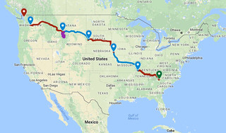 Day Six Route