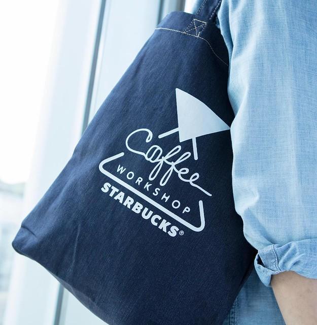 Starbucks Coffee Workshop Gift_Tote Bag 2