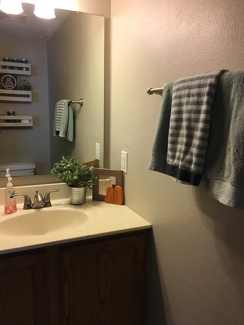 Our Fixer Upper: Guest Bathroom