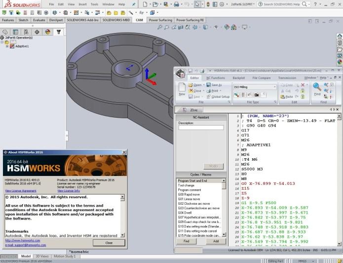 Phần mềm Autodesk HSMWorks 2016 full crack