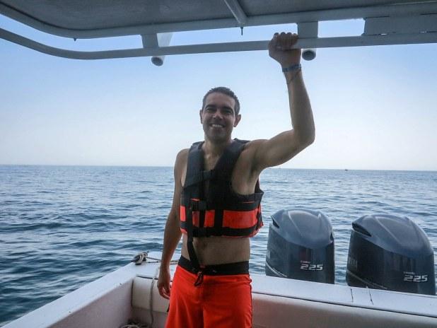 Nadar con el tiburón ballena