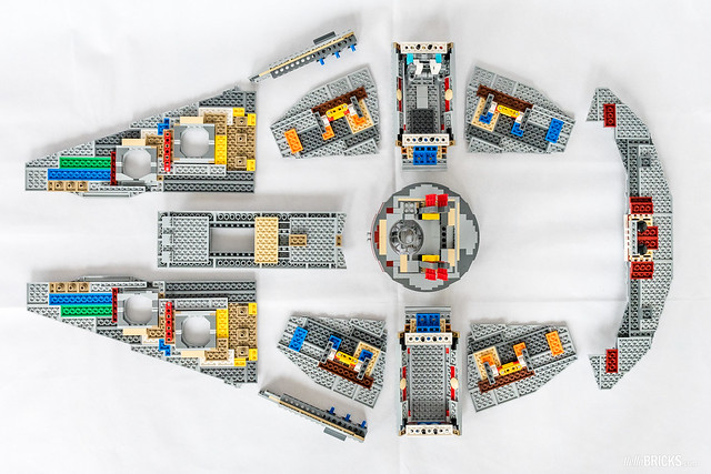 REVIEW LEGO Star Wars 75192 UCS Millennium Falcon