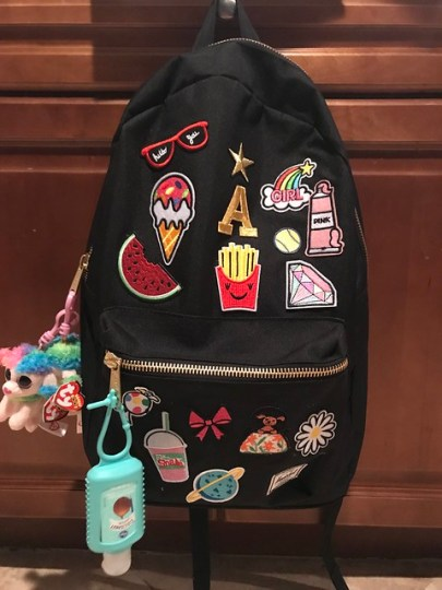 customized backpack