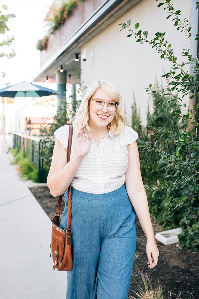 austin fashion blog writes like a girl modcloth chambray culottes8