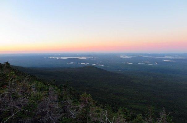 Katahdin Abol Trail Sunrise