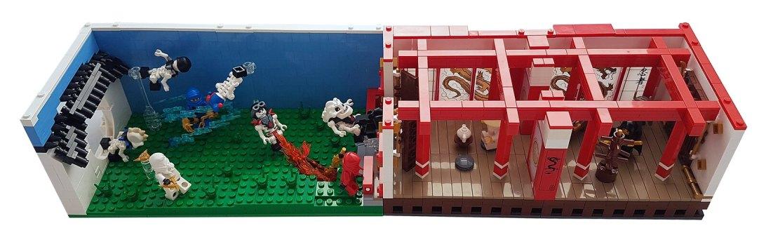 Silly House - Ninjago Room