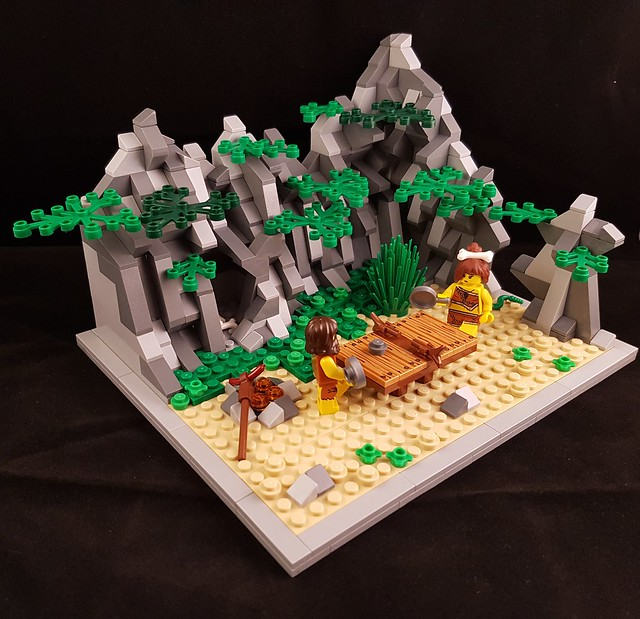 LEGO Ping-pong préhistorique