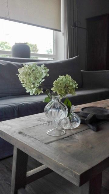 Salontafel vaasjes hortensia